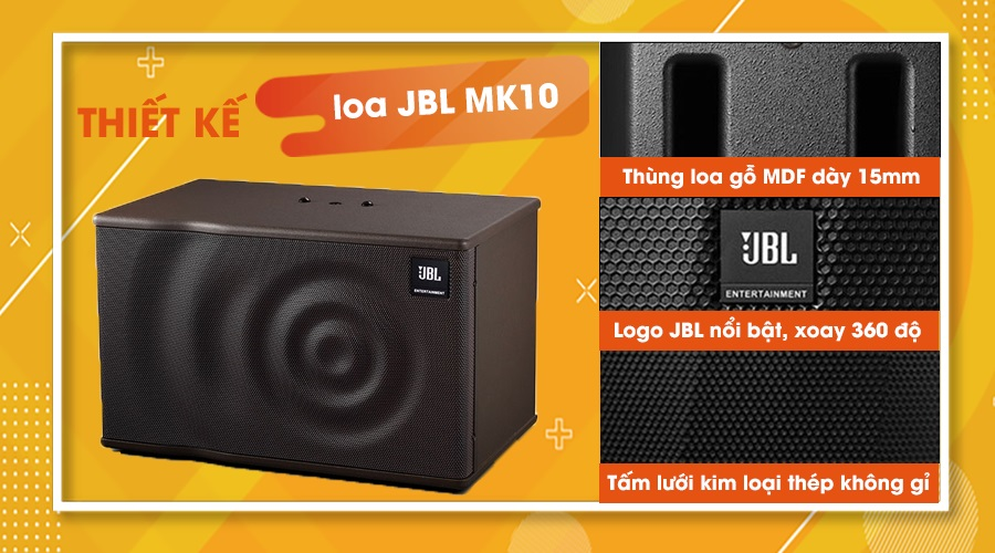 Thiết kế loa JBL MK-10