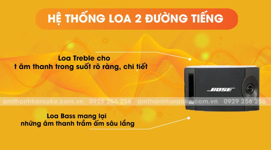 Loa Bose 201 series V - hệ thống loa 2 đường tiếng