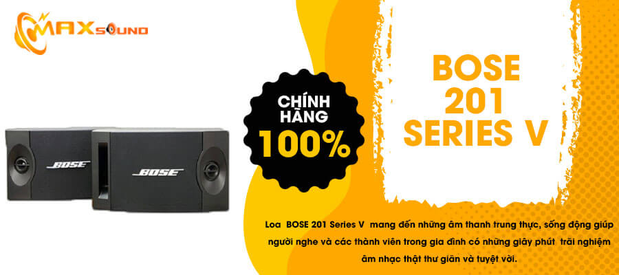 Loa Bose 201 series V chính hãng