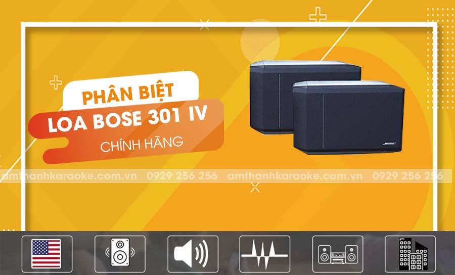 Loa Bose 301 Series IV chính hãng