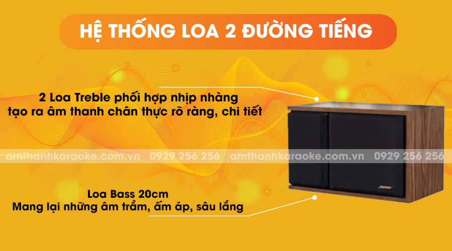 Loa Bose 301 series III - hệ thống loa 2 đường tiếng