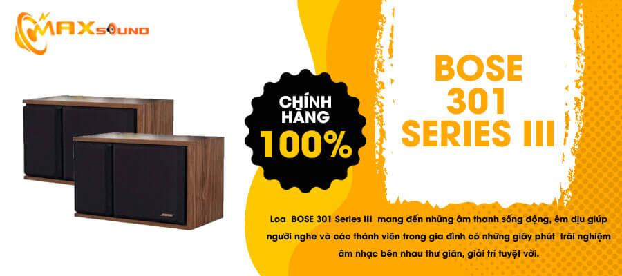 Loa Bose 301 series III chính hãng