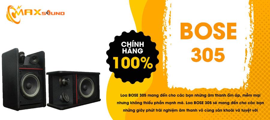Loa Bose 305 chính hãng