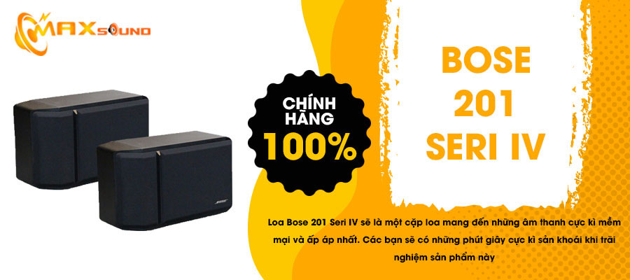 Loa Bose 201 series IV chính hãng