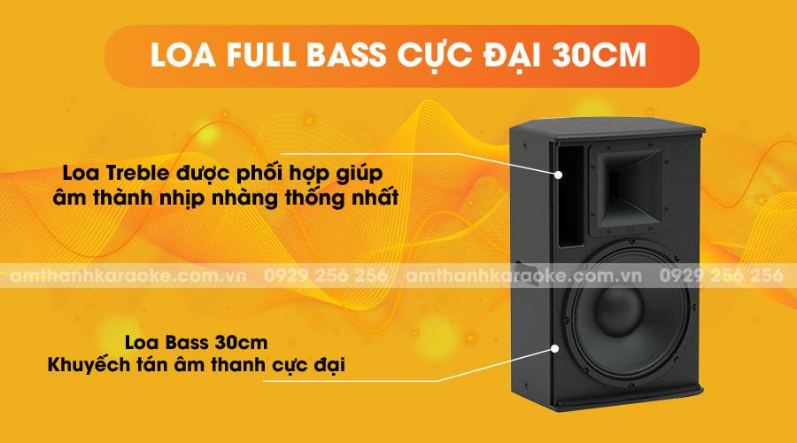 Loa CAF CA-112 Pro full bass cực đại 30cm