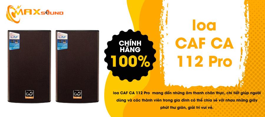Loa CAF CA-112 Pro chính hãng