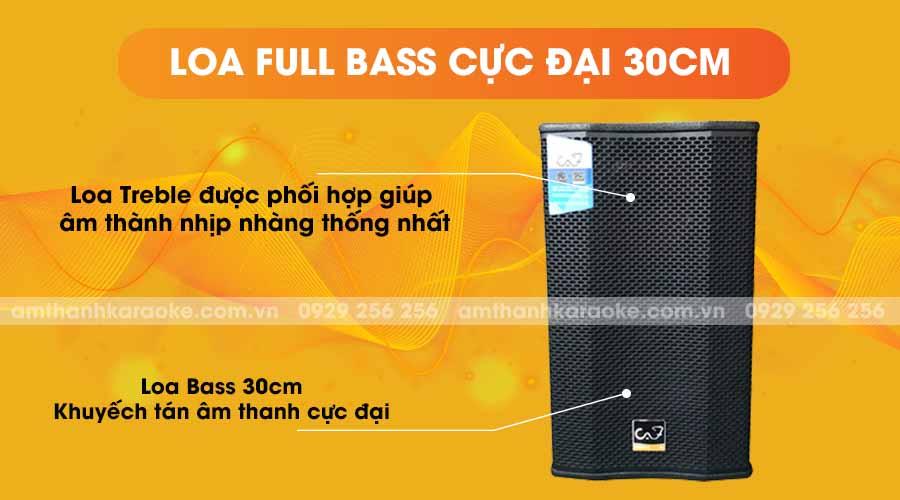 Loa CAF GLA-12 Pro full bass cực đại 30cm