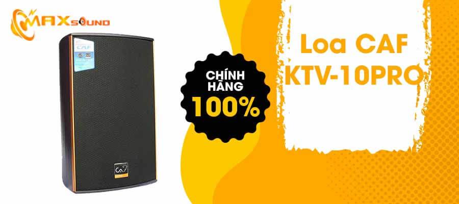 Loa CAF KTV-10 Pro chính hãng