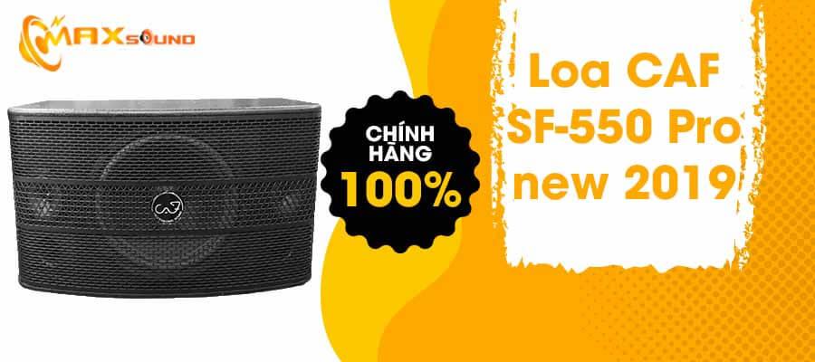 Loa CAF SF-550 Pro chính hãng
