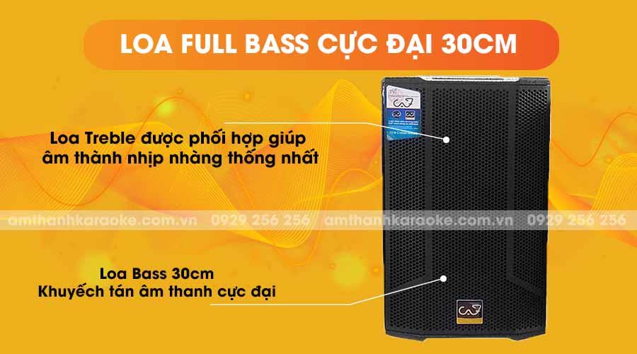 Loa CAF SK12 Pro full bass cực đại 30cm