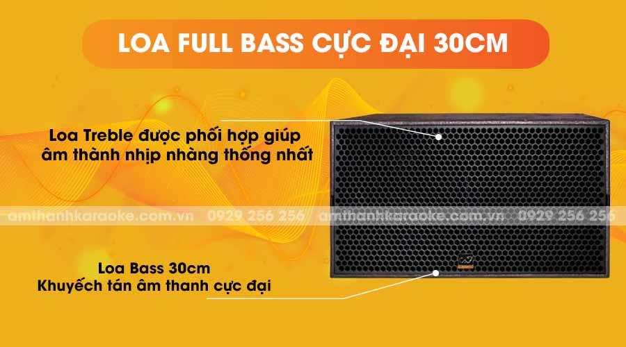 Loa CAF SK-212 pro full bass cực đại 30cm