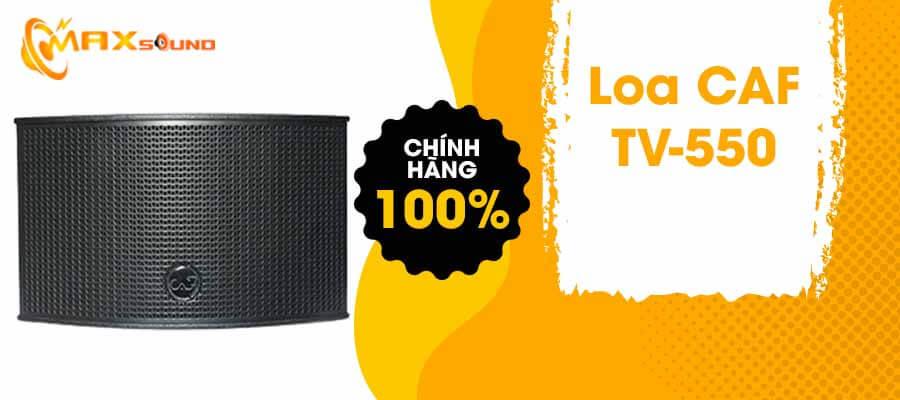 Loa CAF TV-550 chính hãng