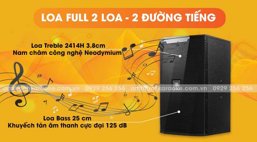 Loa JBL KP-4010 full 2 loa 2 đường tiếng