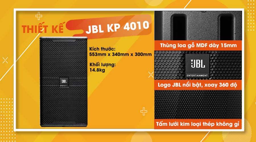 Thiết kế loa JBL KP-4010
