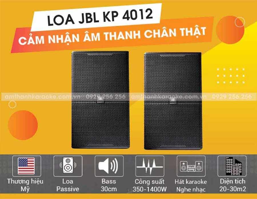 Loa JBL KP-4012 âm thanh chân thật