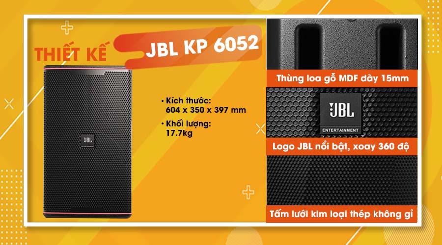 Thiết kế loa JBL KP-6052