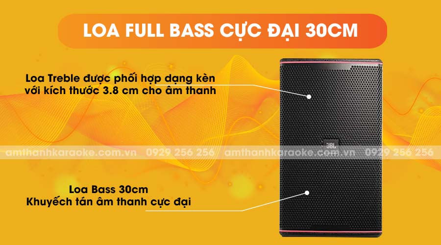 Loa JBL KP-6052 full bass cực đại 30cm