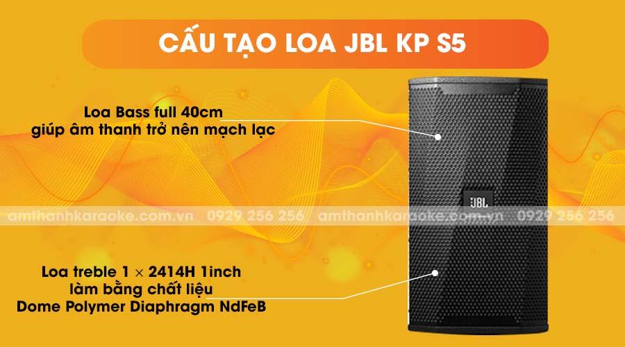 Cấu tạo loa JBL KPS5