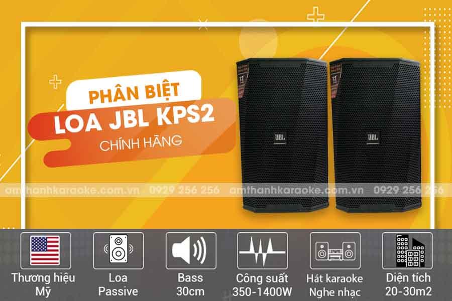 Loa JBL KP S2
