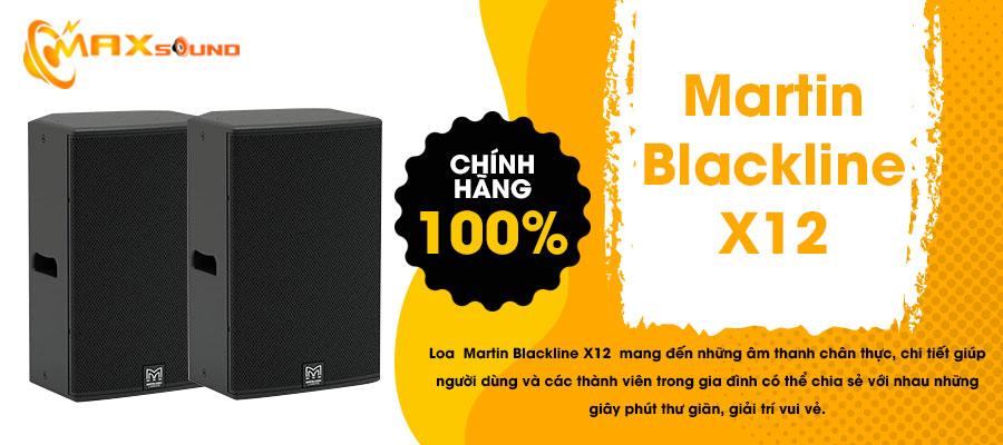 Loa Martin Blackline X12 chính hãng