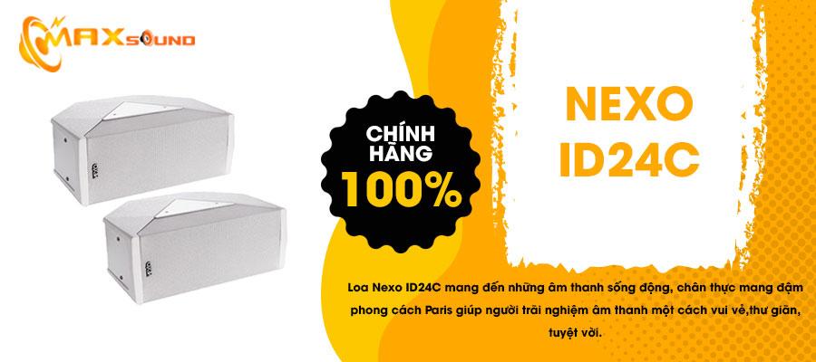 Loa Nexo ID24C chính hãng