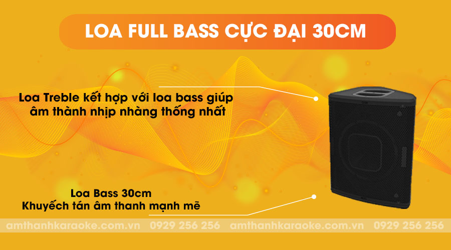 Loa Nexo P12 full bass cực đại 30cm