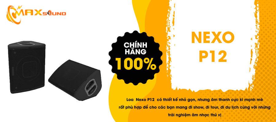 Loa Nexo P12 chính hãng