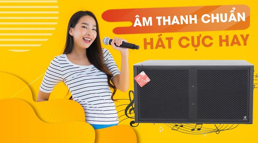 Âm thanh karaoke cực chất từ 4 Acoustic PCS 218BK