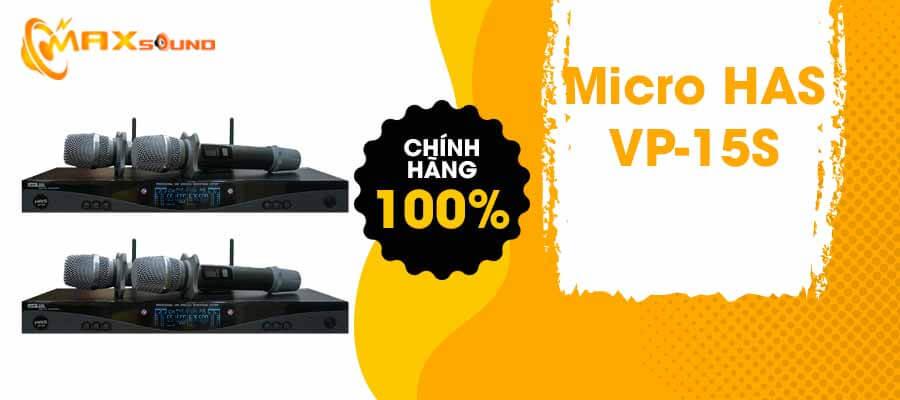 Micro HAS VP-15S chính hãng