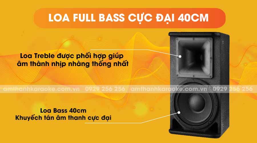 Loa Nova VS-18 full bass cực đại 40cm