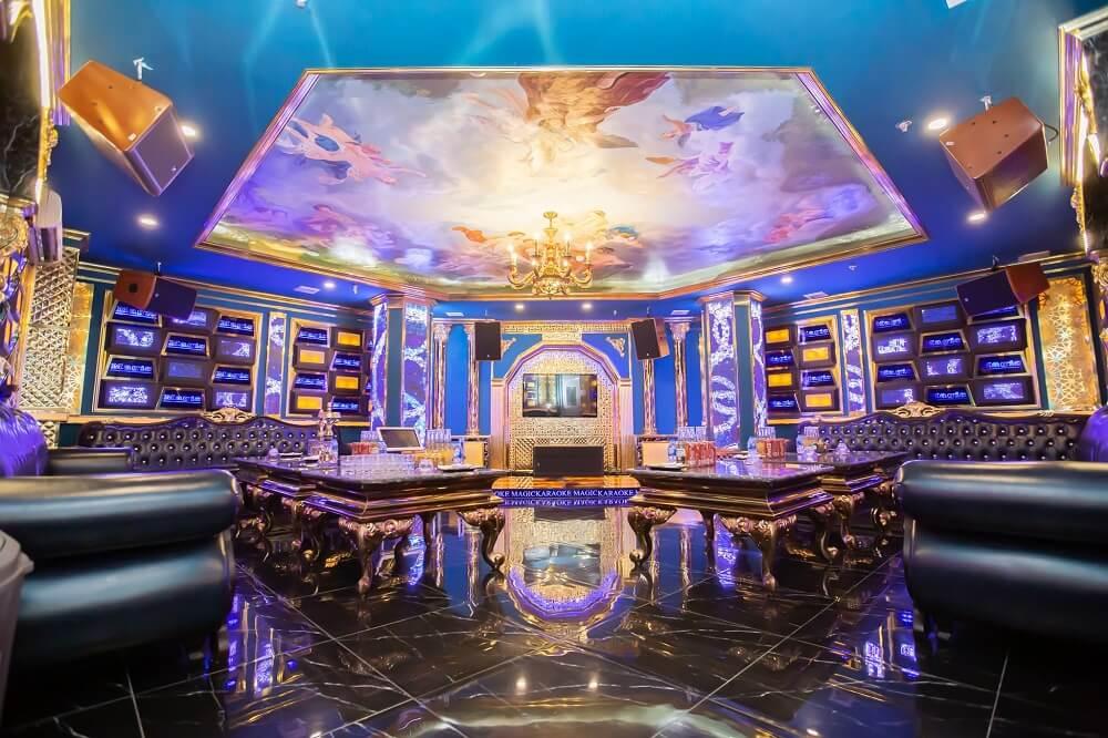 Phòng VIP 12 karaoke Magic Thái Thịnh
