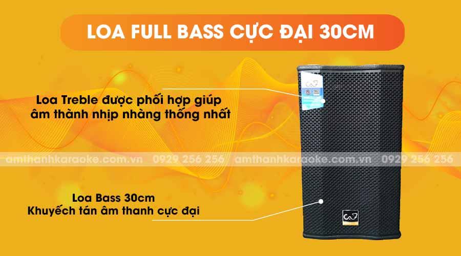 Loa T12 Pro new 2019 full bass cực đại 30cm