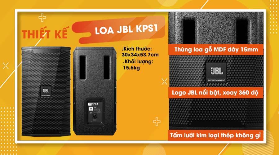Thiết kế loa JBL KPS1