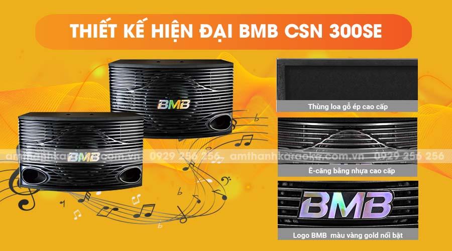 Thiết kế của loa BMB CSN-300SE