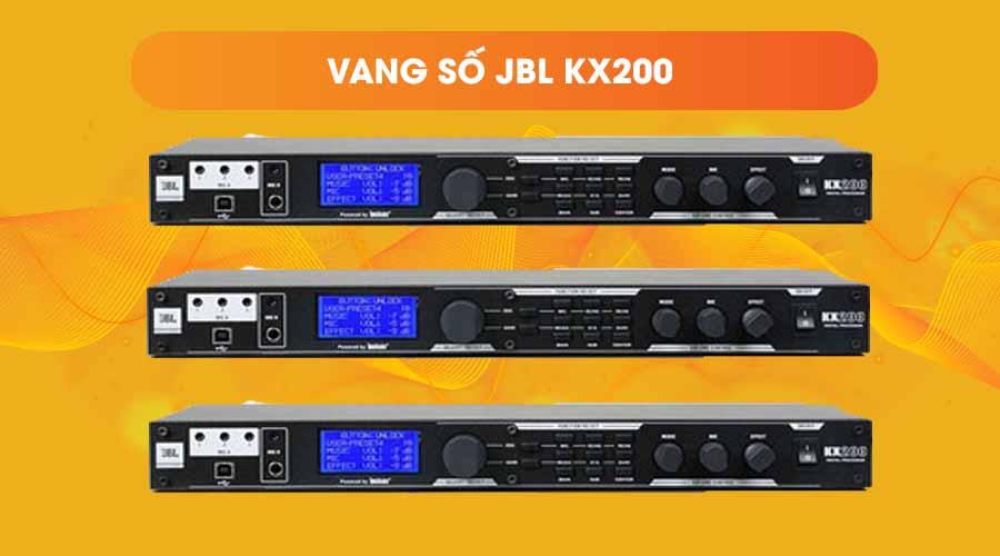 Thiết kế của Vang số JBL KX200